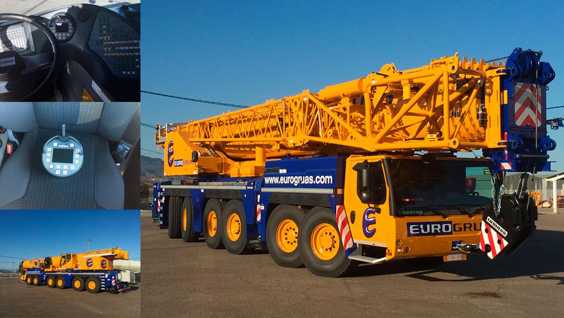 EUROGRUAS incorporates into its fleet a crane LIEBHERR LTM